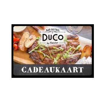 Bar Bistro DuCo Cadeaukaart