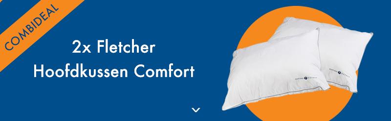 2x Fletcher Hoofdkussen Comfort